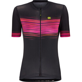 Alé Cycling Solid Start Fietsshirt korte mouwen Dames, black-proc.magenta